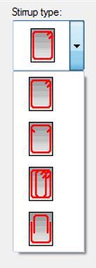Tipologia di armatura di rinforzo