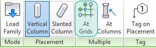 FIG 3 - il comando AT Grids (in corrispondenza delle linee di griglia).