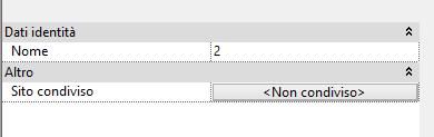 Le Proprietà istanza di un file collegato.