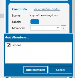Figura 7 - Assegnare un membro alla scheda